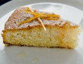 бисквитный цитрусовый пирог