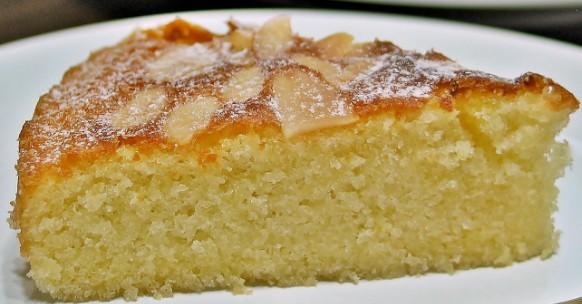 цитрусовый бисквитный пирог