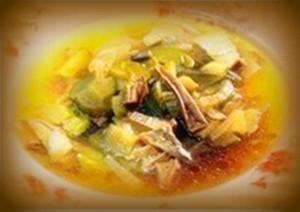 старинное русское блюдо калья