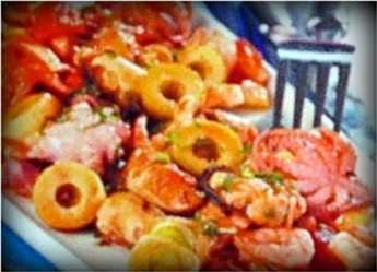 морепродукты в соусе