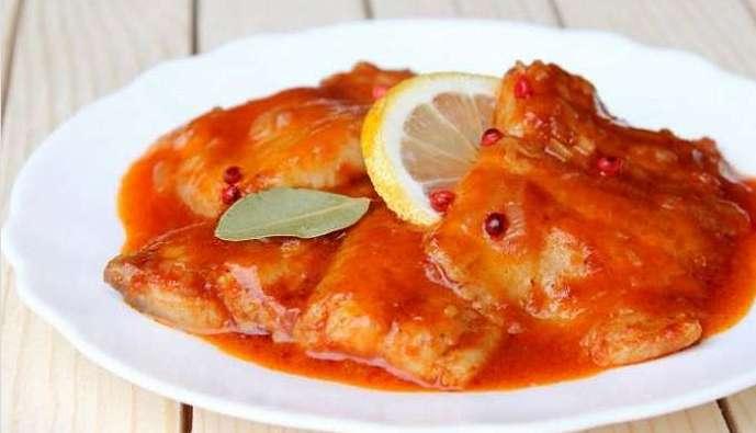 тушеная рыба по сицилийски