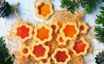 Как приготовить витражное печенье