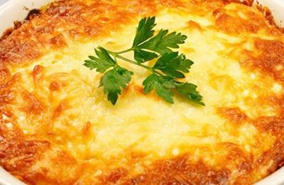 запеканка пастушья с картофелем и мясом