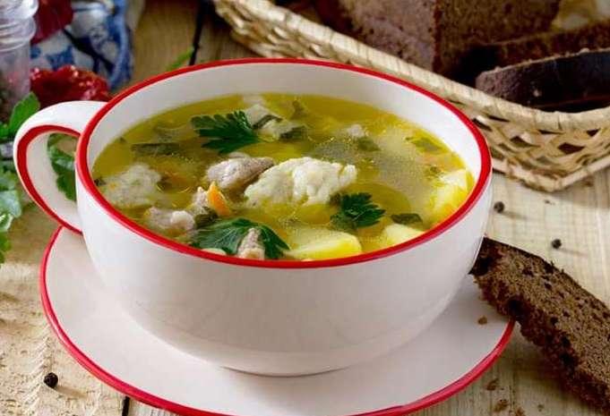 Заварные клецки для супа