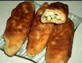 жаренные пирожки на сковороде