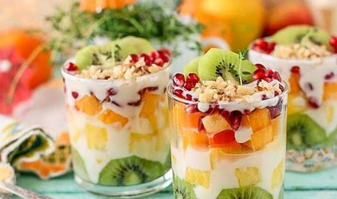 фруктовый салат на день рождения