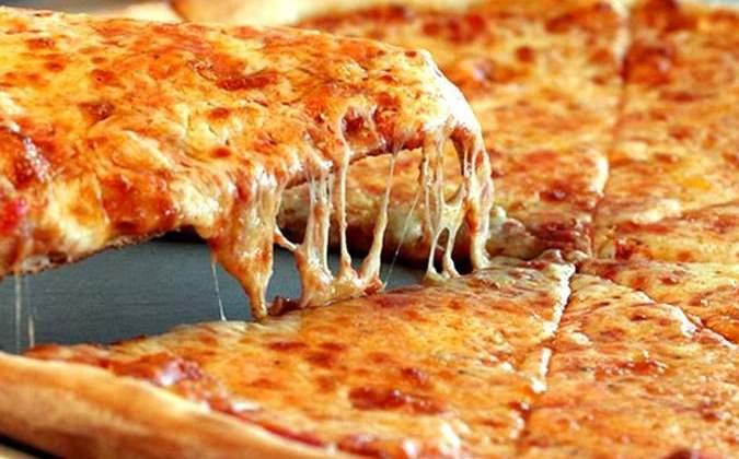 Пицца из слоеного теста с фаршем