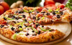 рецепты домашней пиццы с фаршем