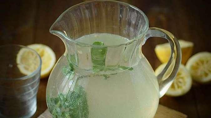 Домашний лимонад с мятой - рецепт из лимонов и мяты
