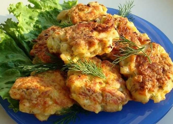 куриные котлеты из филе грудки с сыром