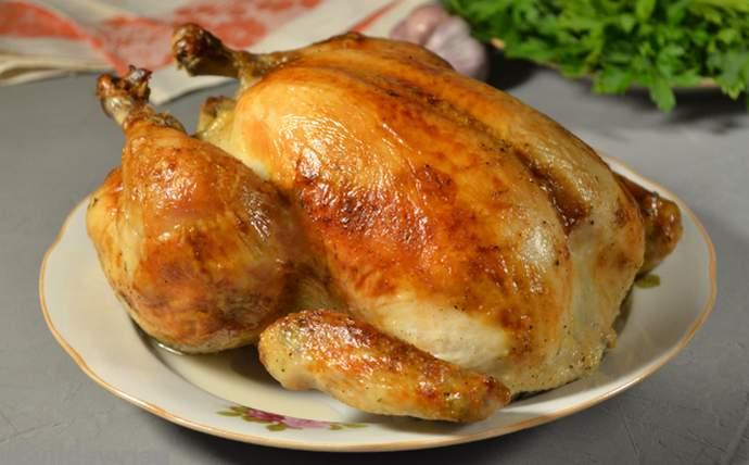 Как приготовить курицу в духовке с хрустящей корочкой