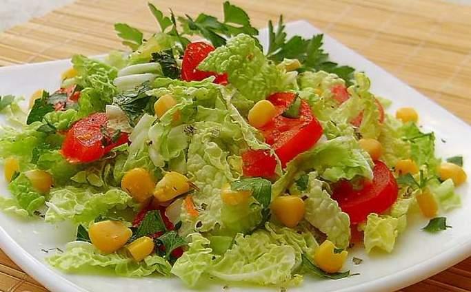 салатик из пекинской капусты