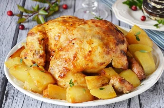 Сочная курица в духовке - как правильно запечь