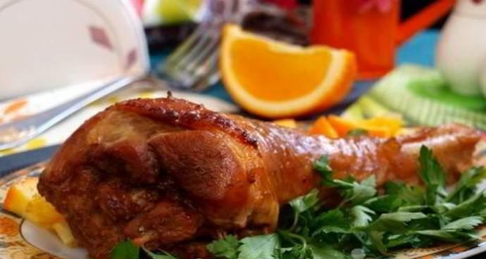 Апельсиновый маринад для индейки