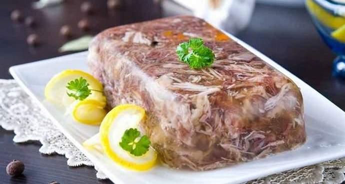 холодец из говядины и свиных ножек