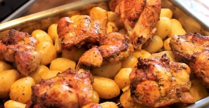 Рецепт приготовления индейки с картошкой в духовке