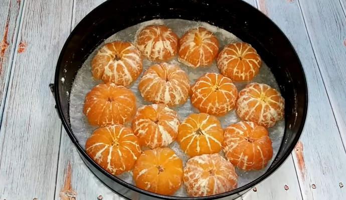 Шарлотка с мандаринами – рецепты бесподобно вкусного мандаринового пирога