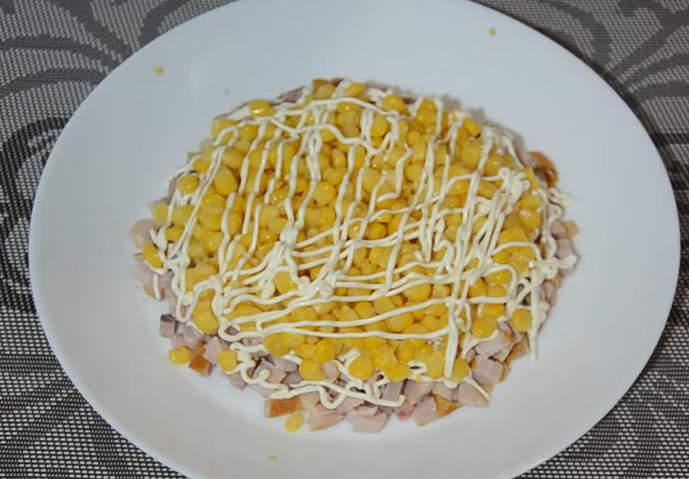 майонез на кукурузе