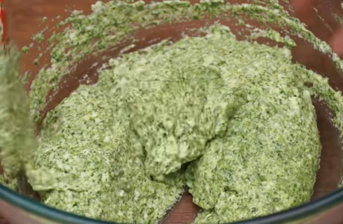 шпинатное тесто