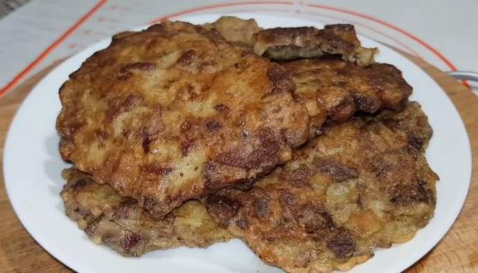 котлетки из куриной печени