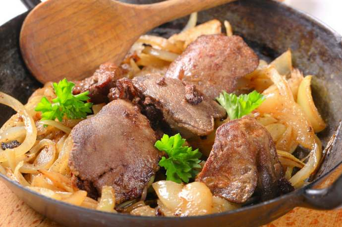 Куриная печень — как приготовить на сковороде вкусно и просто