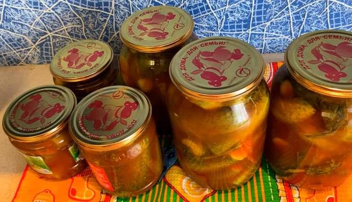 Как приготовить обалденные маринованные огурцы с кетчупом Чили