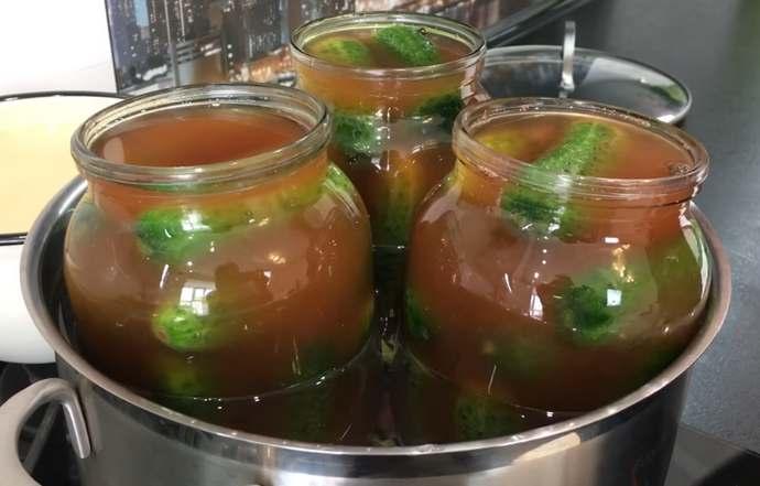 Огурцы с кетчупом чили на зиму в литровых банках: самый вкусный рецепт