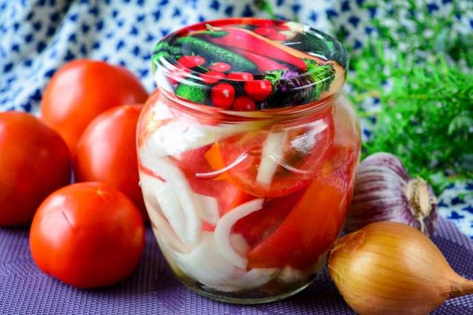 Помидоры по-фински на зиму – вкусный рецепт маринованных помидоров дольками