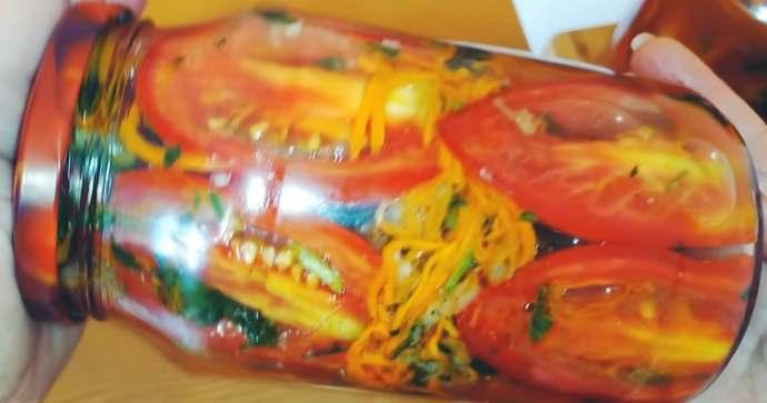 Вкуснейшие помидоры по-корейски просто объедение