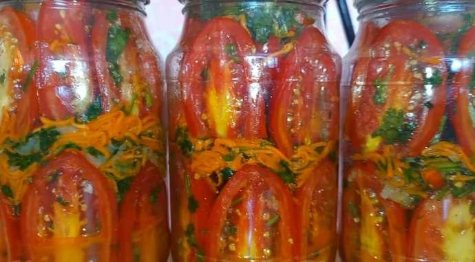 Вкуснейшие помидоры по-корейски