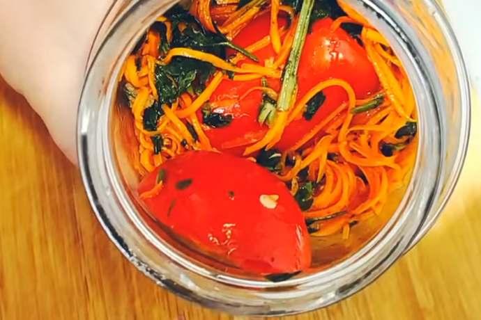 Помидоры по-корейски на зиму в банках — самые вкусные рецепты пальчики оближешь