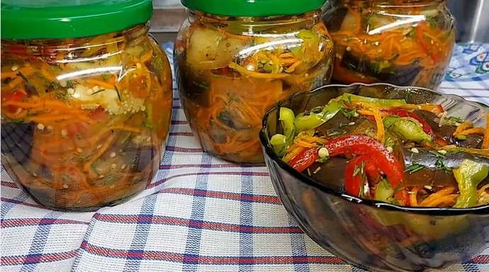 Как быстро и вкусно приготовить баклажаны по-корейски на зиму