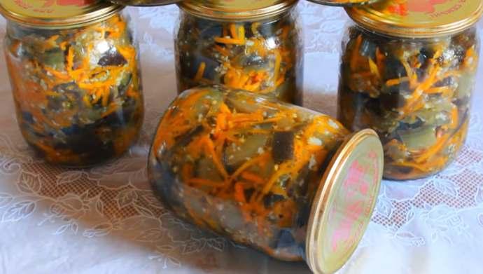баклажаны по корейски с приправой для корейской моркови