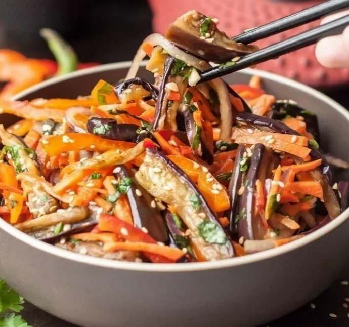 Баклажаны по-корейски на зиму – самые вкусные рецепты пальчики оближешь